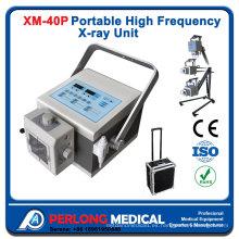 Máquina de rayos x de alta frecuencia Portable serie Xm-P40A de rayos x