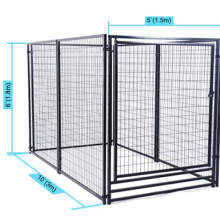 China High Quality metal dog cage  1.8m High run welded dog kennels pet cage