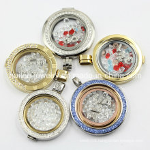 Popular Stainless Steel Floating Charms Locket Pendant Fashion Jewelry