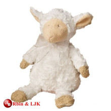 custom promotional lovely stuffed baby lamb toy