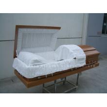 American-Style Wooden Casket Gwf01-04
