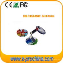 Mini tarjeta de crédito USB Flash Drive para muestra gratis
