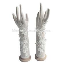 2017 nuevos guantes de boda de la manera para las muchachas de flor