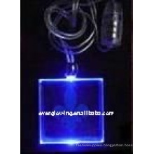 LED lighted necklace
