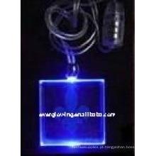 Colar de LED iluminado