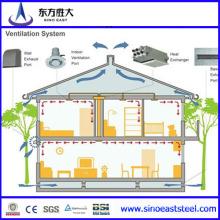 Solar Panel Light Structure Villas (SH-009)