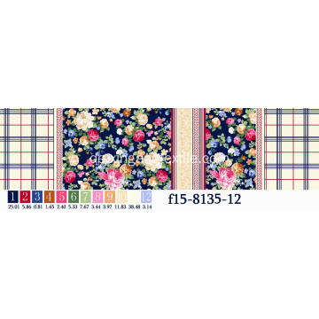Streudruck Stoff Flower Designs Fabric120-125GSM