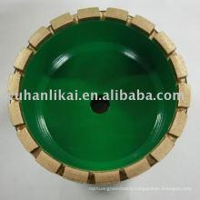 diamond mental bond bruting grinding wheel