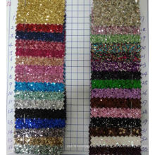 Ck-232 3D Chunky Glitter Tela para el papel pintado