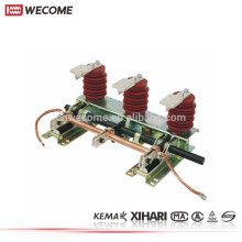 KEMA a témoigné l'appareillage électrique de tension moyenne 12KV 630A JN15 commutateur électrique de la terre