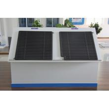 Солнечный коллектор используется в очень холодном регионе Сибири для зеленого дома Белая Дача Группа