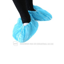 Medical blue disposable pp non woven non skid shoe cover made in China