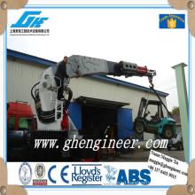 knuckle boom truck mounted crane