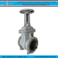 DN250 WCB wedge gate valve