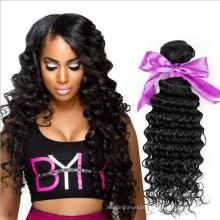 HE004 7A Brazilian Body Wave 4 Bundles With Closure Soft Human Hair Weave Bundles With Closure Mink Brazilian Virgin Hair