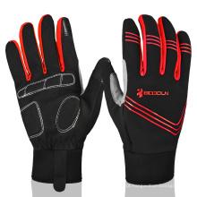 Sports Bicycle Racing Luvas Bike Riding Luvas de ciclismo Full Finger Custom Winter Cycling Gloves