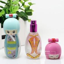 Fashion Cute Body Shape Bouteilles en verre de parfum, pot cosmétique pour huile de parfum