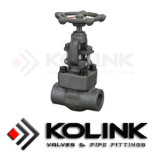 Forged Steel Globe Valve Bb OS&Y