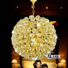 K9 Crystal antique petit lustre de style européen classique pour la chambre à coucher LT-7294