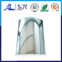 Hoja de espejo de aluminio pulido