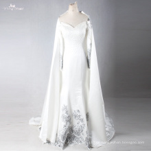 LZF005 neue entworfene Qualitäts-Meerjungfrau-formale Abend-Kleider mit entfernbarer Kappe