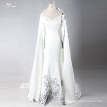 LZF005 Новый разработанный высокое качество Русалка Вечерние платья с Съемный колпачок