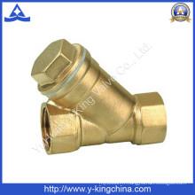 Vanne à filtre à eau en laiton et en bronze forgé (YD-3005)