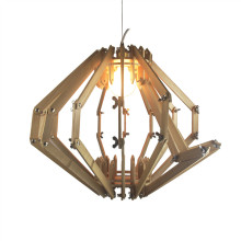 Indoor Home Wood Hanging Lighting (KAM-P1002A)