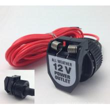 Weatherproof 12V 120W Applicable for Car Motorcycle Motorbike Boat Cigarette Lighter Power Outlet