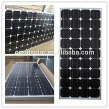 Monocrystalline Silicon Solar Panel 120W with Postive Tolerance of Output