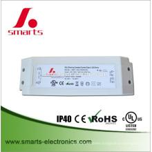 DALI 30w 0-500ma LED driver AC DC 35-60v led power supply for indoor led lighting