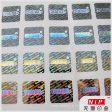Etiqueta do holograma de seguro válido autêntica segurança genuína
