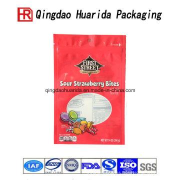 Envasado de alimentos de grado alimenticio Envase de plástico dulce de azúcar en caramelo