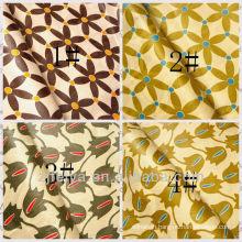 Fashion Printed Damask Shadda African Fabrics Nigerian Style Guinea Bazin Brocade Polyester