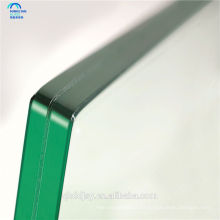 Panel de vidrio templado transparente claro de 12 mm 15 mm con exportación a América del Norte