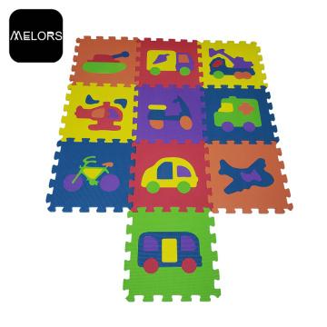 EVA Vehicle Children Educational Toys Car Puzzle Mat