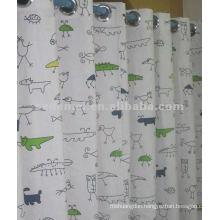 outdoor fabric kids cartoon canvas curtain