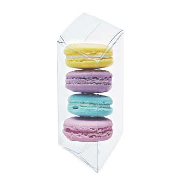 Macaron Gift Plastic Acetate Clear Verpackungsboxen