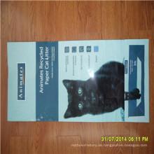 20 kg BOPP laminierte PP gewebte Ventilsack, Animal Food Bag, Hundefutter Tasche