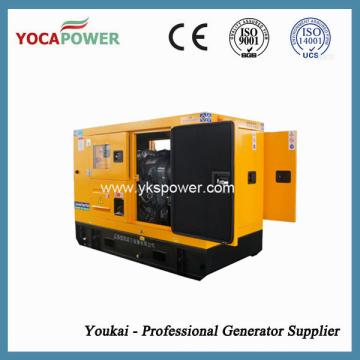 Мощный бесшумный дизельный генератор мощностью 12 кВт