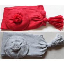 (LKN15032) inverno promocional malha cachecol