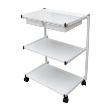 Salon Rolling Trolley Shelves
