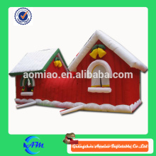 Inflatable christmas house para la venta