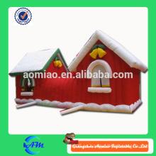 Inflatable christmas house para la venta