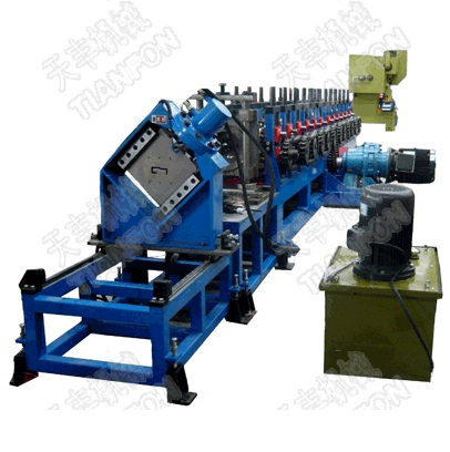 Electric Cabinet Roll Former Roll Forming Machine