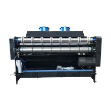 Vibrator stacker for printing die cutting machine