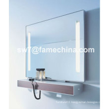 new and naturalistic painted mirror cabinet IP44 lights