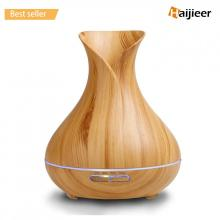 400ml Aromatherapy Wood Grain Ultrasonic Air Oil luchtbevochtiger