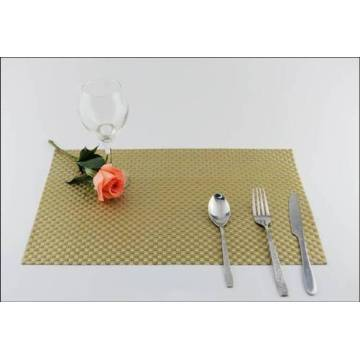 PVC eat mat cojín de decoración Pvc Placemat