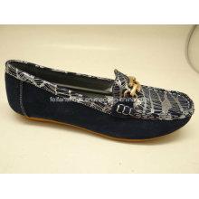 Lates женщин досуг кожаные ботинки Повседневная кожа обувь (SF014)